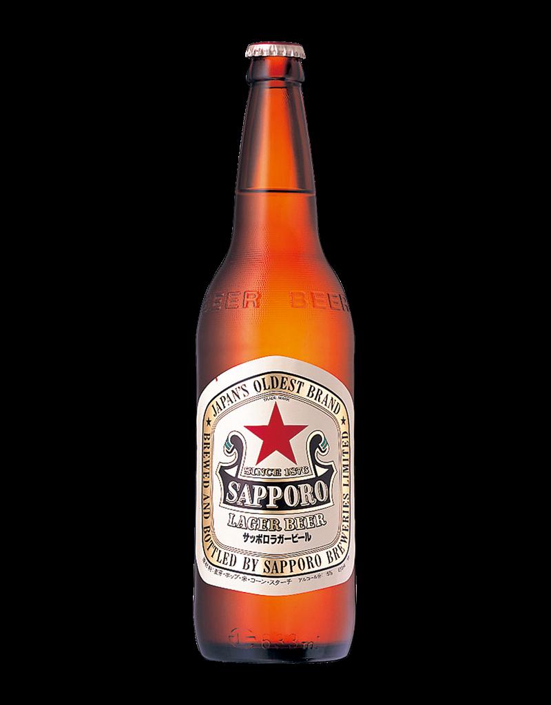 瓶ビール サッポロラガー(通称 赤星)