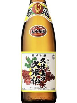 <泡盛>久米島の久米仙 でいご 43%